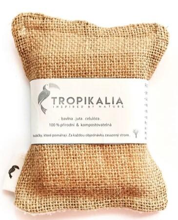 Zobrazit detail výrobku Tropikalia Kompostovatelná houbička na nádobí z juty, bavlny a přírodní celulózy