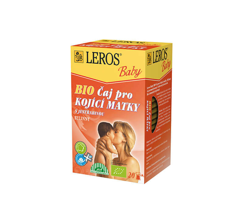 Zobrazit detail výrobku Leros Baby BIO Čaj pro kojící matky s jestřabinou 20 x 2 g