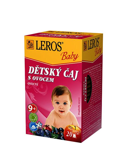 Zobrazit detail výrobku LEROS LEROS Baby Dětský čaj s ovocem 20 x 2 g