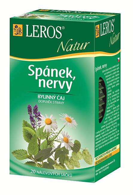 Zobrazit detail výrobku LEROS LEROS Natur Spánek, nervy 20 x 1.3 g