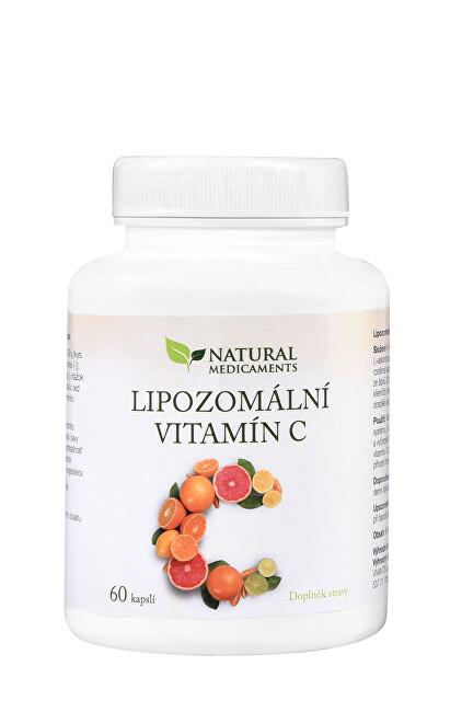 Zobrazit detail výrobku Natural Medicaments Lipozomální vitamín C 60 kapslí