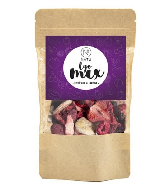 Zobrazit detail výrobku Natu Lyo mix borůvka & jahoda 35 g