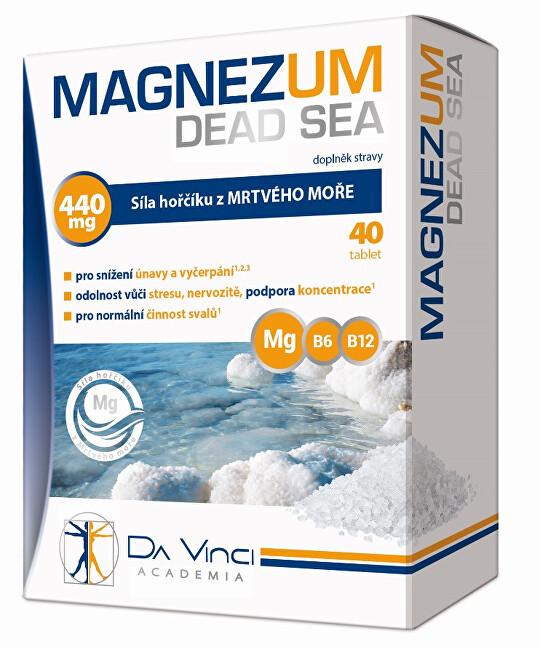 Zobrazit detail výrobku Simply You Magnezum Dead Sea Da Vinci Academia 40 tablet