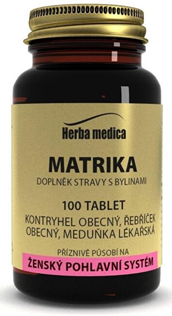 Zobrazit detail výrobku HerbaMedica Matrika 50g - menstruační komfort 100 tablet