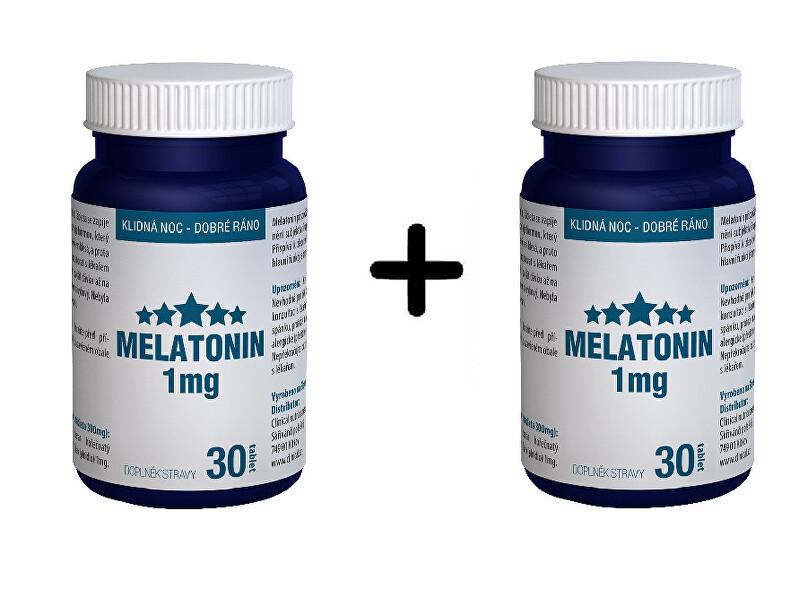 Zobrazit detail výrobku Clinical Nutricosmetics Melatonin 30 tablet