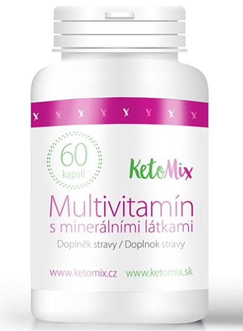 Zobrazit detail výrobku KetoMix Multivitamín s minerálními látkami 60 kapslí
