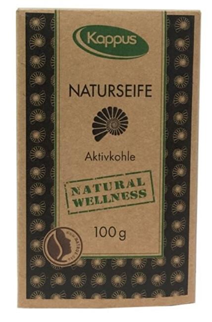 Natural wellness mýdlo 100 g 3-1425 Aktivní uhlí