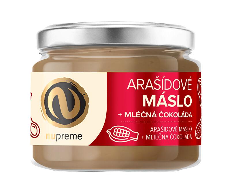 Zobrazit detail výrobku Nupreme Nupreme Arašídové máslo s mléčnou čokoládou 220 g