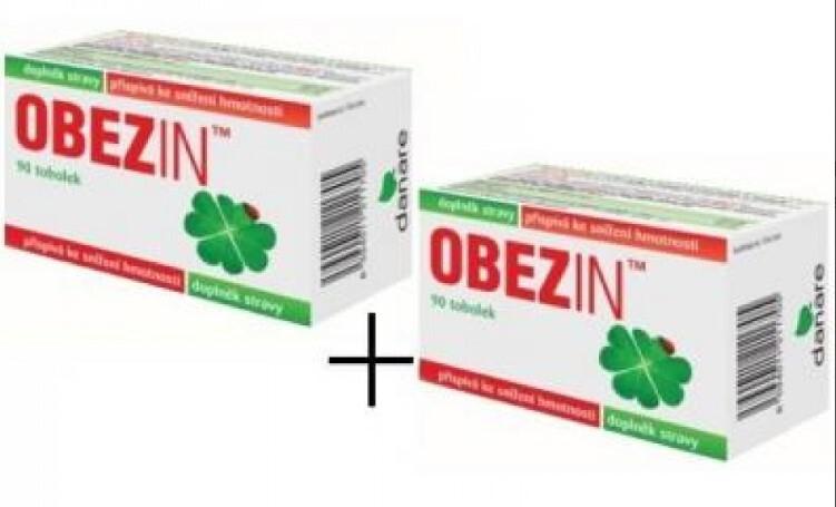 Zobrazit detail výrobku Danare OBEZIN® měsíční hubnoucí kůra 2 x 90 tobolek