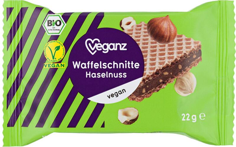 Zobrazit detail výrobku Veganz Oříšková vafle, Bio 22 g