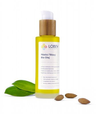 Zobrazit detail výrobku Lobey Pěsticí tělový olej BIO 100 ml