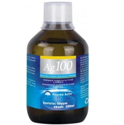 Zobrazit detail výrobku Pharma Activ Koloidní stříbro Ag100 (50ppm) 300ml