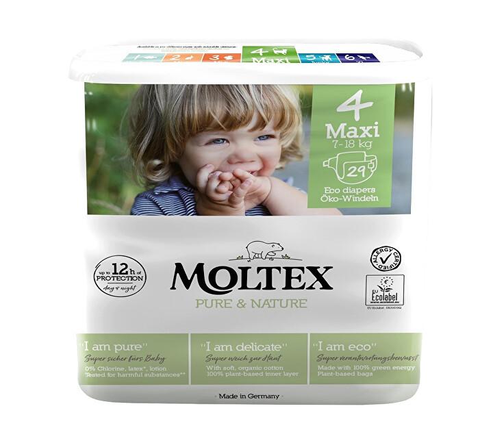 Zobrazit detail výrobku Moltex Pure & Nature Plenky Moltex Pure & Nature Maxi 7-18 kg (29 ks)