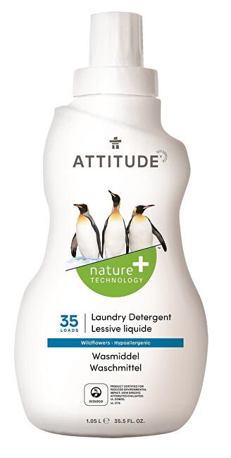 Zobrazit detail výrobku ATTITUDE Nature+ Prací gel ATTITUDE s vůní lučních květin 1050 ml (35 pracích dávek)