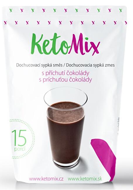 Zobrazit detail výrobku KetoMix Příchuť ke koktejlu - čokoláda 45 g