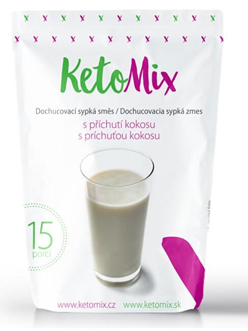 Zobrazit detail výrobku KetoMix Příchuť ke koktejlu - kokos 45 g