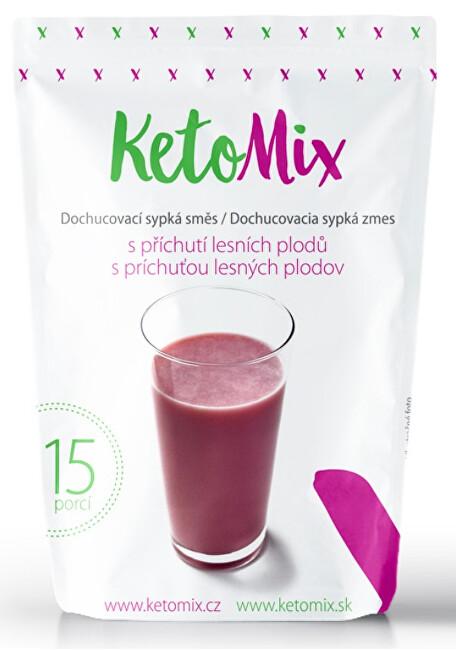 Zobrazit detail výrobku KetoMix Příchuť ke koktejlu - lesní směs 45g