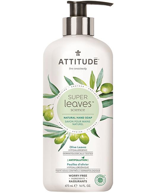 Zobrazit detail výrobku ATTITUDE Přírodní mýdlo na ruce ATTITUDE Super leaves s detoxikačním účinkem - olivové listy 473 ml