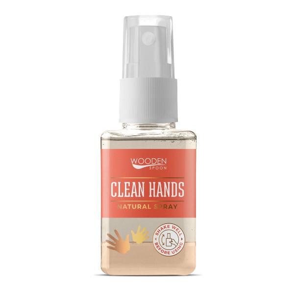 WoodenSpoon Prírodný čistiaci sprej na ruky WoodenSpoon 50 ml