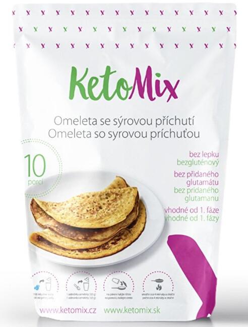 Zobrazit detail výrobku KetoMix Proteinová omeleta 320 g (10 porcí) - se sýrovou příchutí