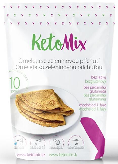 Zobrazit detail výrobku KetoMix Proteinová omeleta 320 g (10 porcí) - se zeleninovou příchutí