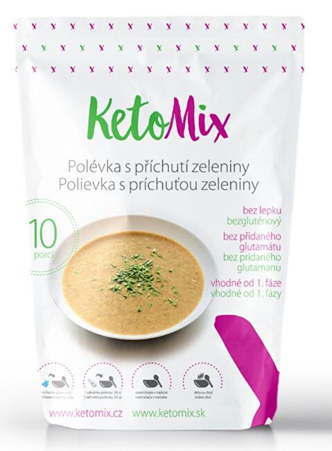 Zobrazit detail výrobku KetoMix Proteinová polévka 300 g (10 porcí) - s příchutí zeleniny