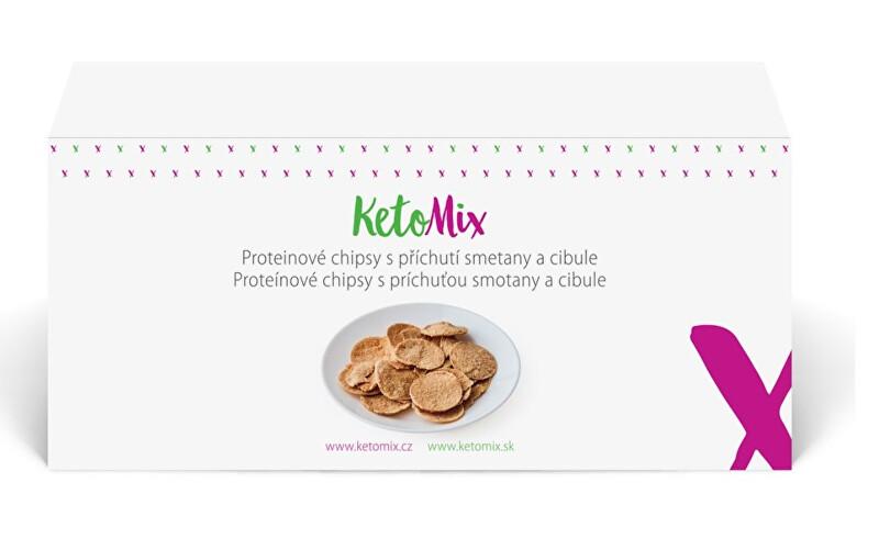 Zobrazit detail výrobku KetoMix Proteinové chipsy s příchutí cibulky 120 g