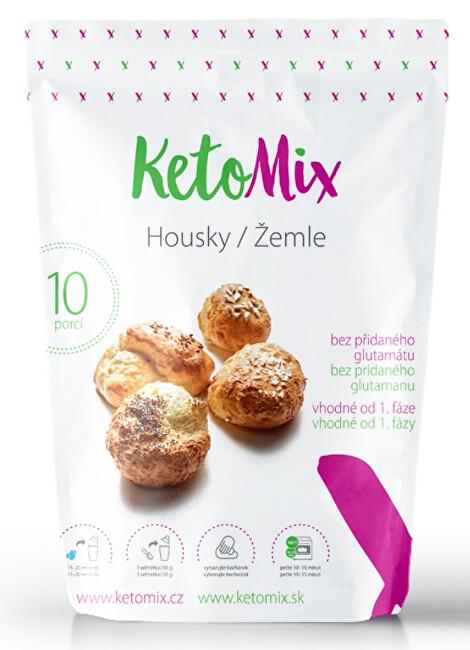 Zobrazit detail výrobku Ketomix Proteinové houstičky 10 x 300 g