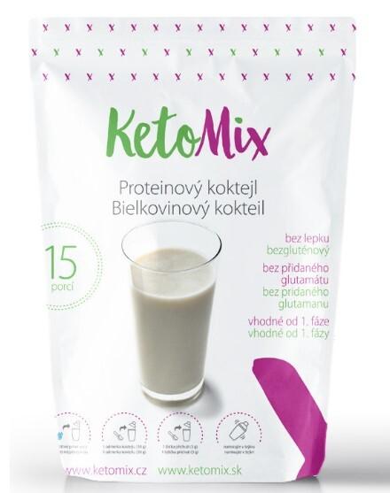 Zobrazit detail výrobku KetoMix Proteinový koktejl KetoMix 450 g (15 porcí)