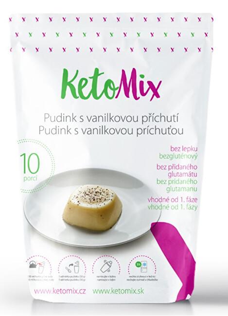 Zobrazit detail výrobku KetoMix Proteinový pudink s vanilkovou příchutí - 300 g (10 porcí)