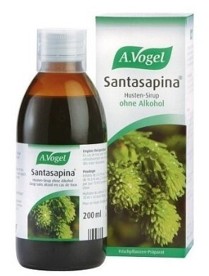 Zobrazit detail výrobku A.Vogel Santasapina – sirup z čerstvého smrku - na kašel 200 ml