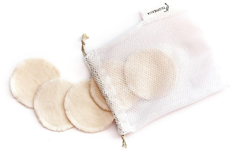 Zobrazit detail výrobku Tropikalia Set 5 krémových tampónků s pratelným pytlíčkem