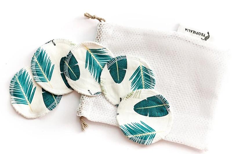 Zobrazit detail výrobku Tropikalia Set 5 tampónků se stromečky s pratelným pytlíčkem