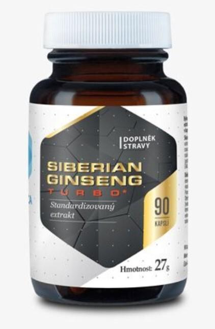 Zobrazit detail výrobku Hepatica Siberian ginseng Turbo 90 kapslí