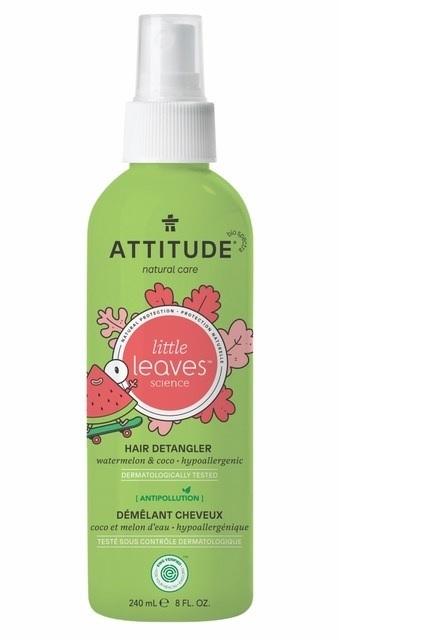 Zobrazit detail výrobku ATTITUDE Sprej pro snadné rozčesávání dětských vlásků ATTITUDE Little leaves s vůní melounu a kokosu 240 ml