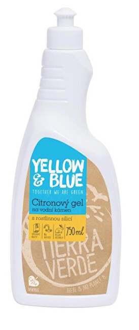 Zobrazit detail výrobku Tierra Verde Citronový gelový čistič na úklid koupelen (skvěle rozpouští vodní kámen) 750 ml