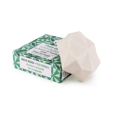 Zobrazit detail výrobku Lamazuna Tuhé mýdlo na holení pro normální pokožku - zelený čaj a citrón 17 g