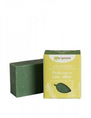 Zobrazit detail výrobku laSaponaria Tuhé olivové mýdlo BIO 100 g Středomořské bylinky a aloe
