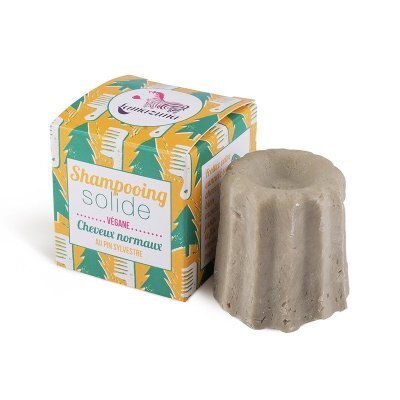 Zobrazit detail výrobku Lamazuna Tuhý šampon pro normální vlasy 55 g Borovice