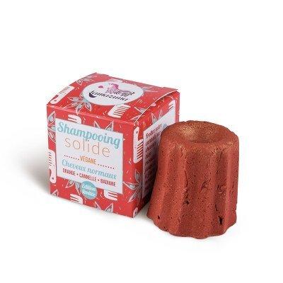 Zobrazit detail výrobku Lamazuna Tuhý šampon pro normální vlasy 55 g Pomeranč, anýz, skořice