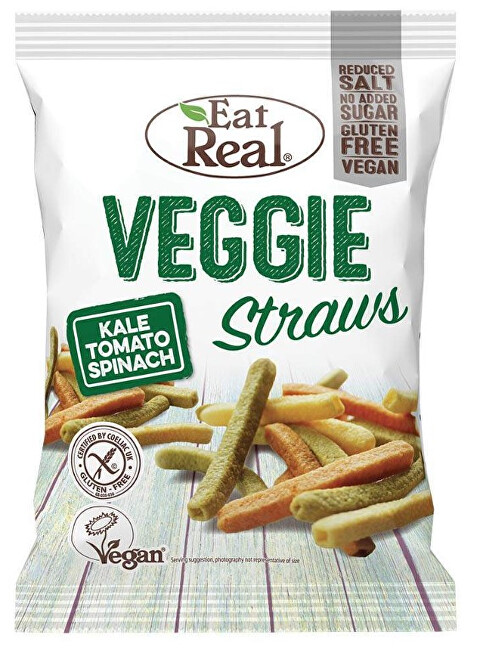 Zobrazit detail výrobku Eat Real Veggie Straws 113 g