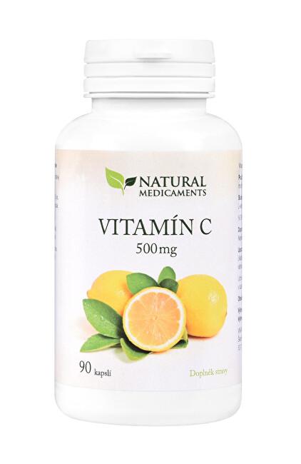 Zobrazit detail výrobku Natural Medicaments Vitamín C 500 mg 90 kapslí
