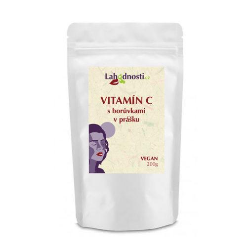 Zobrazit detail výrobku Lahodnosti Vitamín C s borůvkami v prášku 200g - podpora imunity