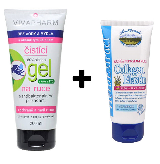 Zobrazit detail výrobku Vivaco VIVAPHARM čistící gel na ruce 200 ml