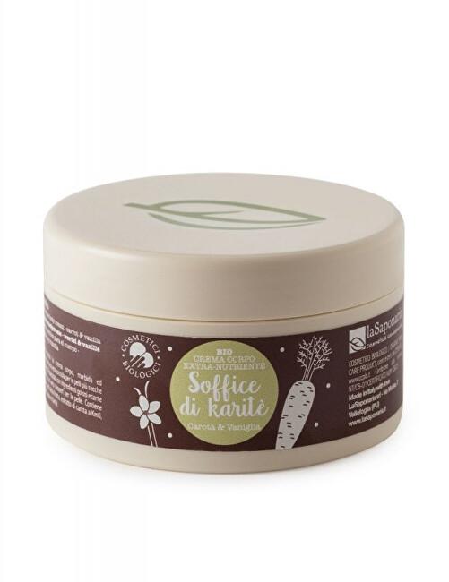 Zobrazit detail výrobku laSaponaria Výživný tělový krém s mrkví a vanilkou BIO 180 ml