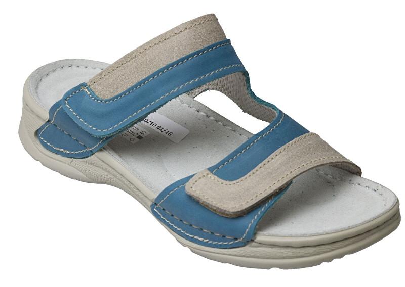Zobrazit detail výrobku SANTÉ Zdravotní obuv Dámská - D/12/87/S12/SP TYRKYSOVÁ 39