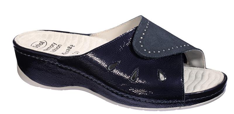 Scholl Zdravo tne obuv - NIVES - Navy blue 39
