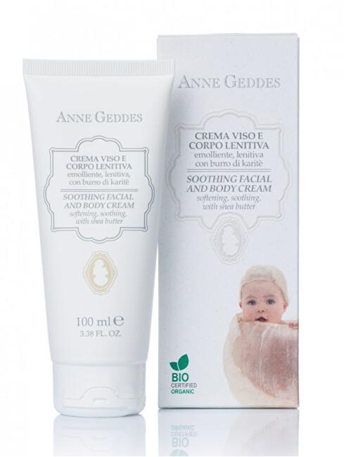 Zobrazit detail výrobku Anne Geddes Zjemňující dětský obličejový a tělový krém 100 ml