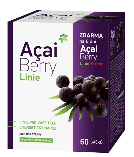 Zobrazit detail výrobku Biomedica Acai Berry Linie 60 sáčků + dárek Acai Berry Strong zdarma - SLEVA - potrhaná krabička