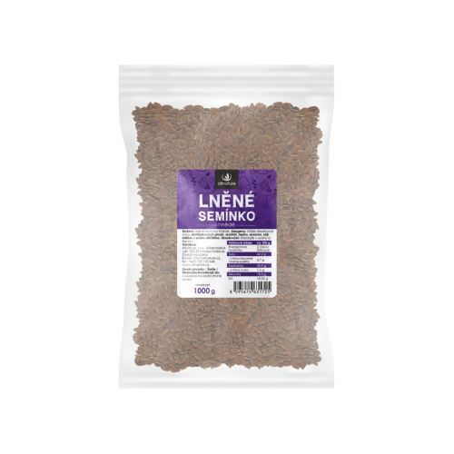 Zobrazit detail výrobku Allnature Lněné semínko hnědé 1000 g